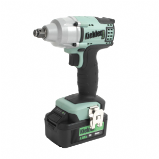 "Kielder KWT-002CS-04 1/2"" Drive 430Nm Brushless Impact Wrench With 2 4Ah Batteries"